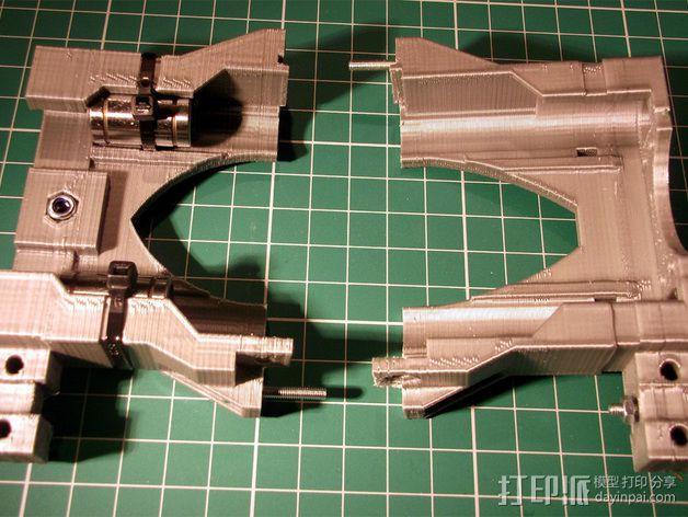 打印机X轴 挤出机 3D模型  图9