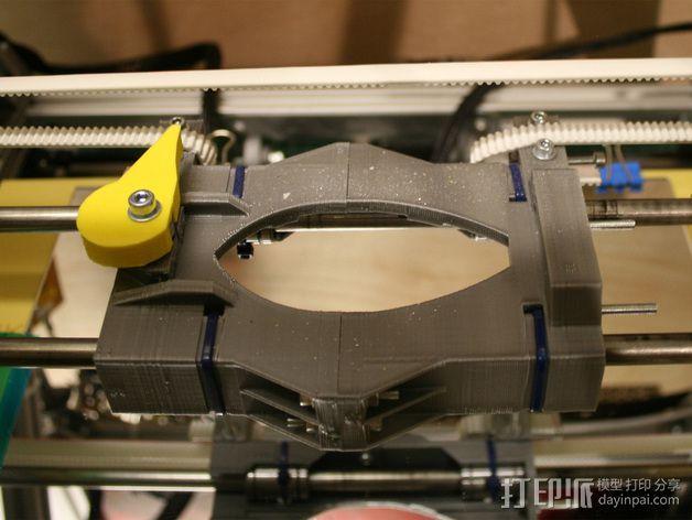 打印机X轴 挤出机 3D模型  图13