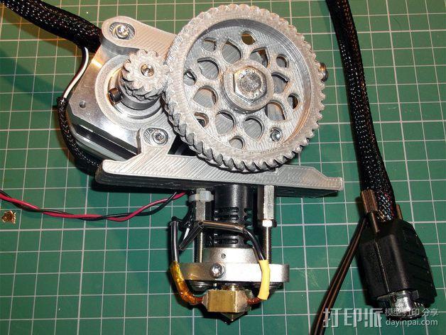 打印机X轴 挤出机 3D模型  图12