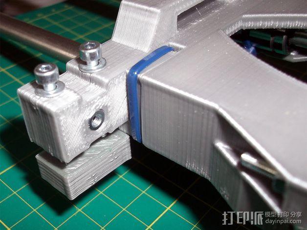 打印机X轴 挤出机 3D模型  图11