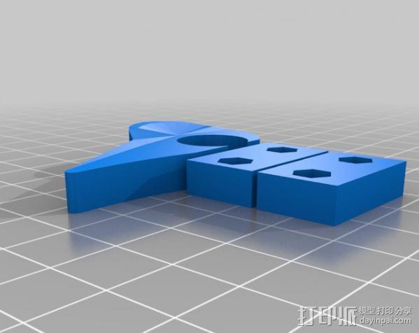 打印机X轴 挤出机 3D模型  图15
