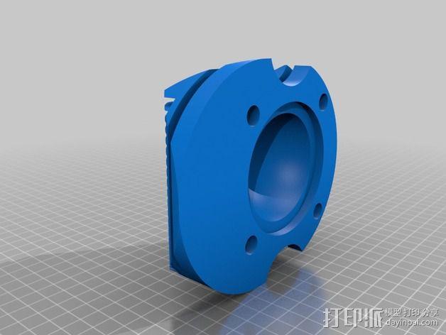气缸盖 3D模型  图2