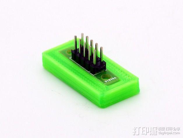 Mini Kossel打印机电路板保护座 3D模型  图5