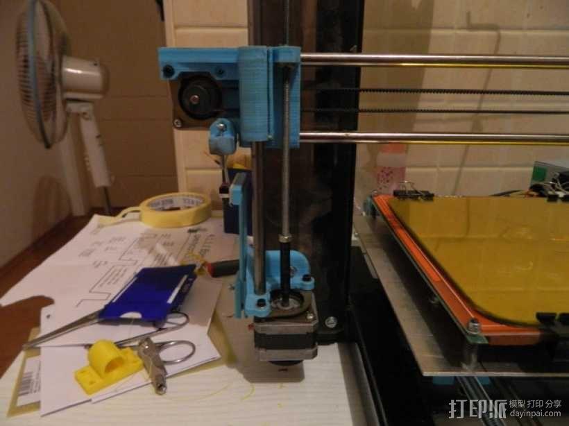 打印机Z轴联轴器 3D模型  图1
