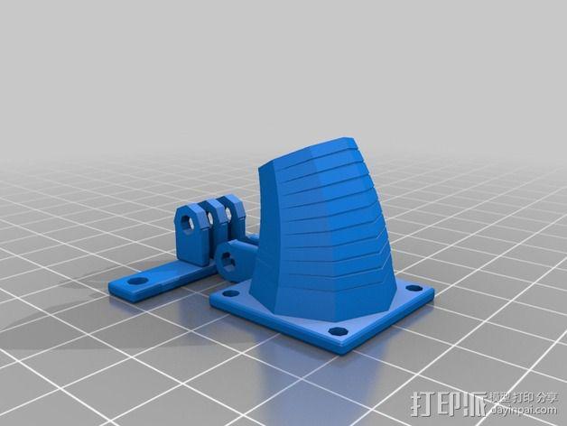 可活动的通风导管 3D模型  图6