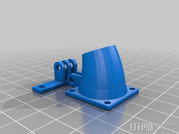 可活动的通风导管 3D模型  图7