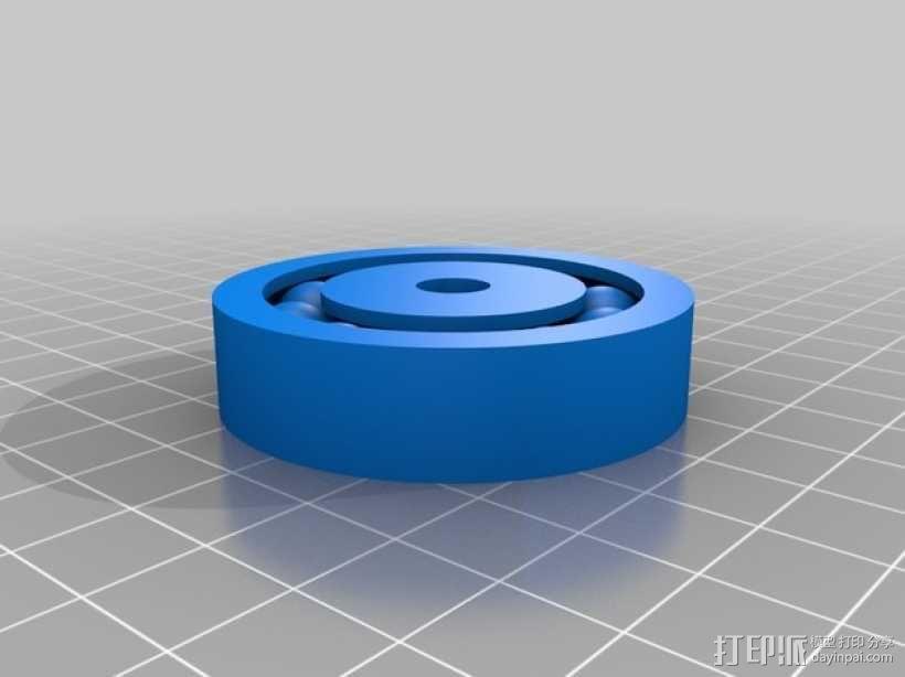 双向性硅钢片支撑架 3D模型  图1