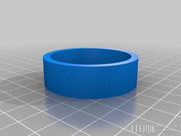 双向性硅钢片支撑架 3D模型  图2