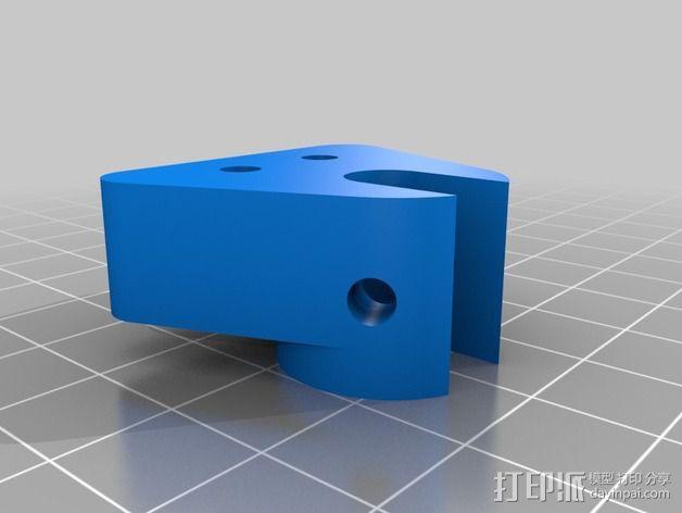 双向性硅钢片支撑架 3D模型  图4