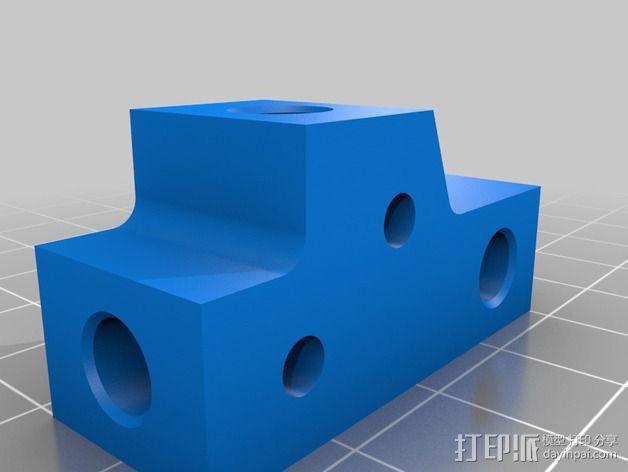 双向性硅钢片支撑架 3D模型  图5