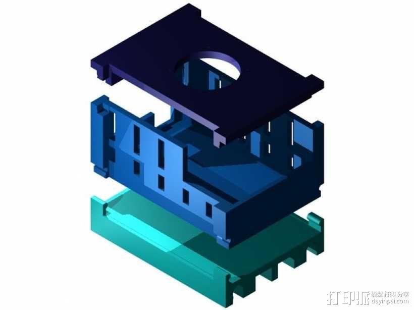 风扇保护罩 3D模型  图1