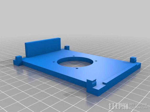 风扇保护罩 3D模型  图3