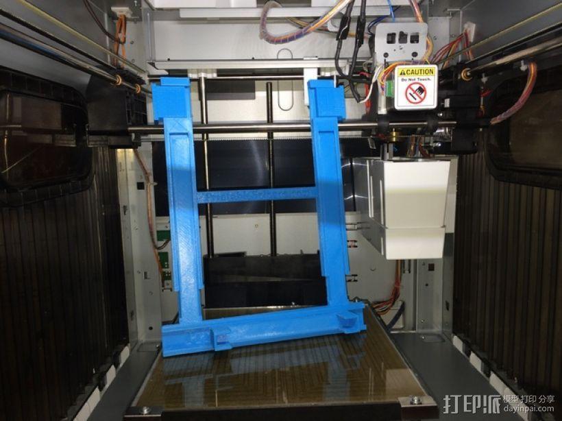 打印机手机支架 3D模型  图1