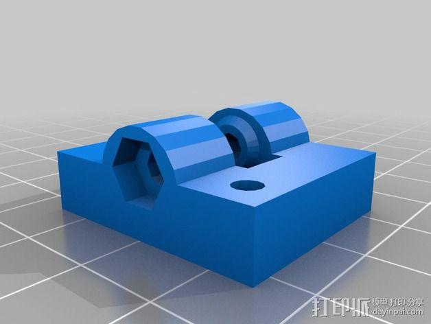 Prusa i3挤出机 3D模型  图11