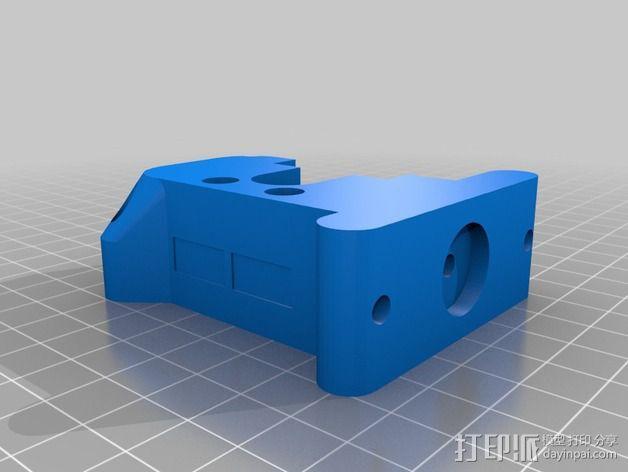 Prusa i3挤出机 3D模型  图12