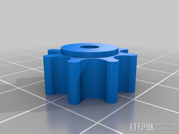 玻璃固定夹 3D模型  图6