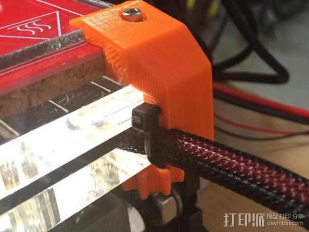 玻璃固定夹 3D模型  图7