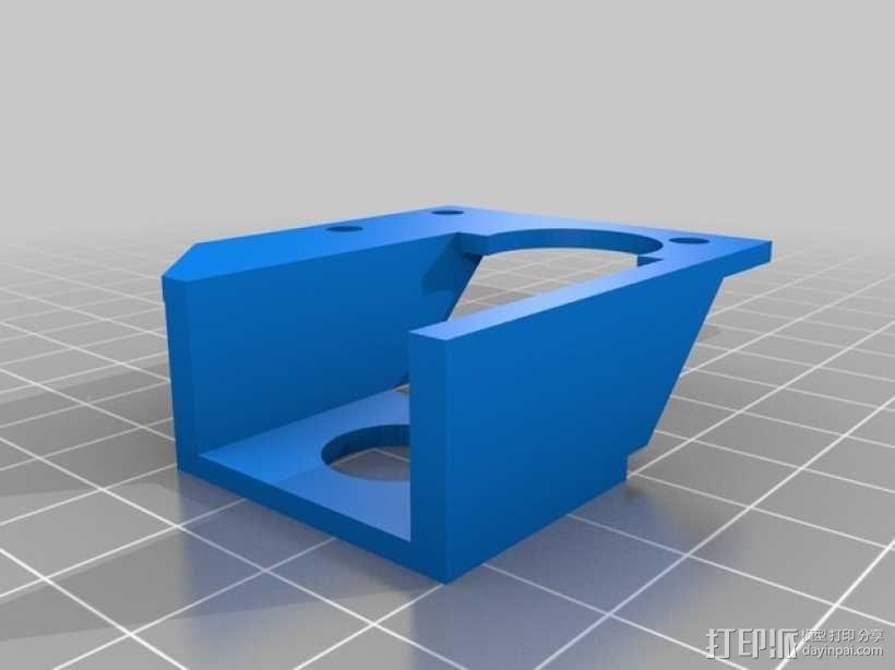 PrintrBot 打印机自动调平探针 3D模型  图2