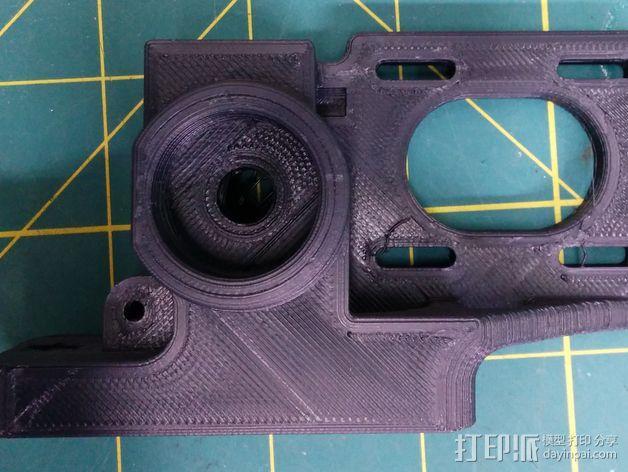皮带驱动挤出机 3D模型  图1