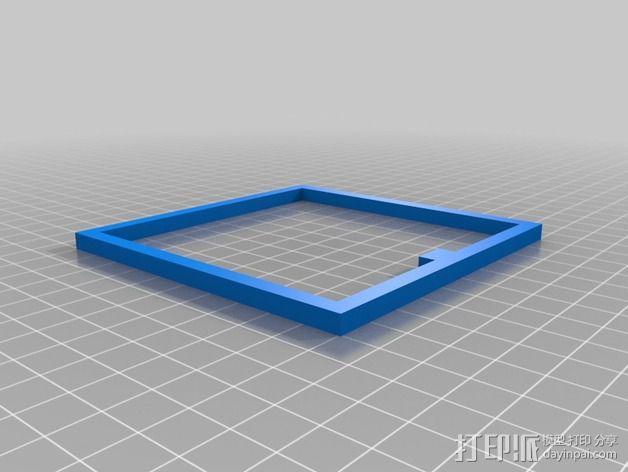 校正框 校正器 3D模型  图2