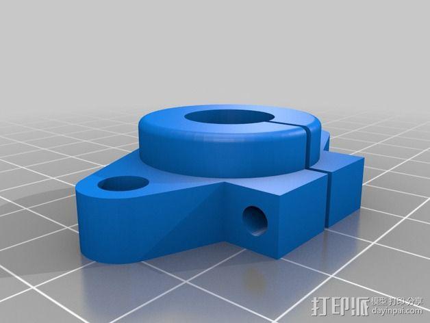 打印机部件 3D模型  图1