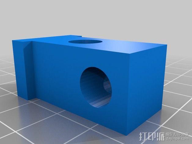 通用型线轴架 3D模型  图3