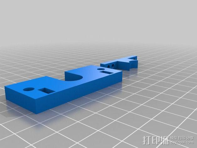 Makerfarm i3打印机固定板 3D模型  图2