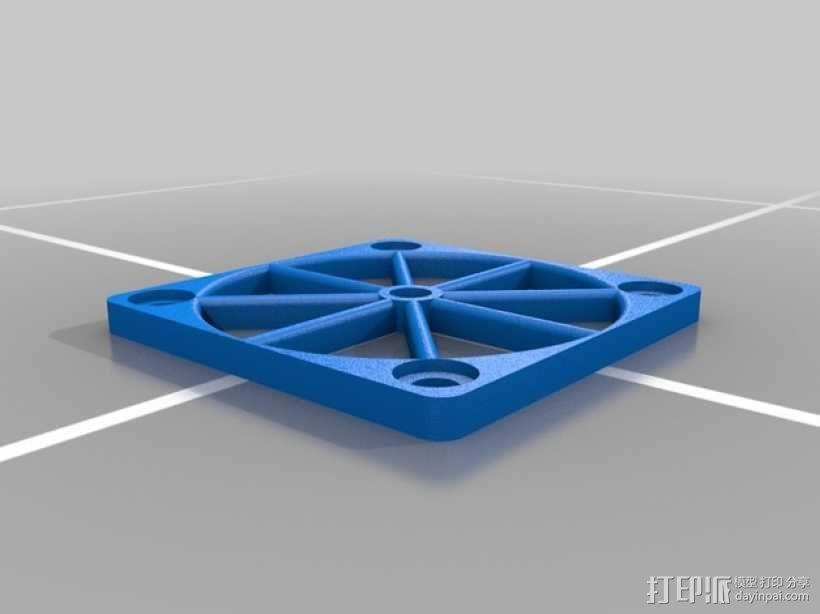 风扇架 3D模型  图2