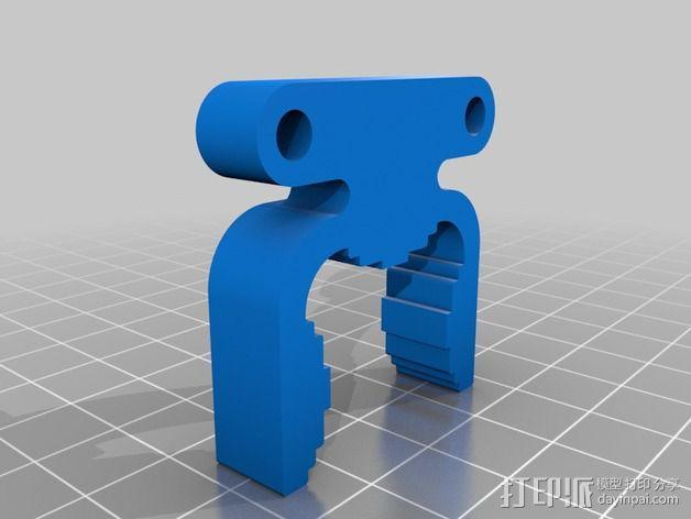 挤出机电箱 3D模型  图7