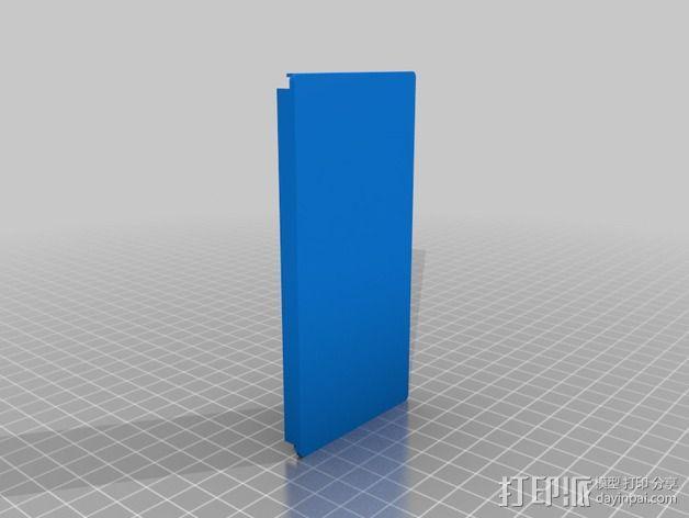 挤出机电箱 3D模型  图6