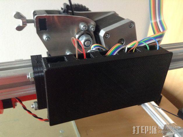 挤出机电箱 3D模型  图4