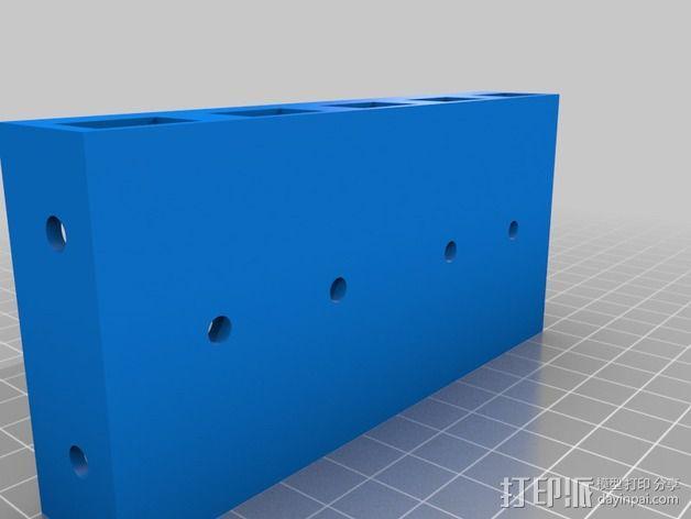挤出机电箱 3D模型  图8