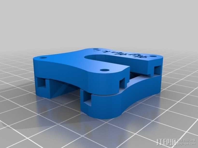Makibox打印机底座 3D模型  图1