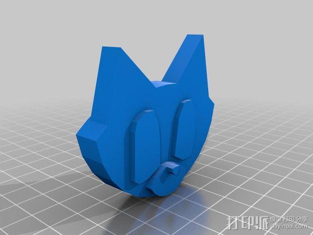 小猫模型 3D模型  图1