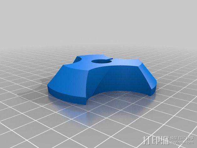 Prusa i3打印机线轴架 3D模型  图4