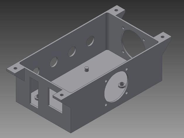 Ramps 1.4打印机外壳 3D模型  图2