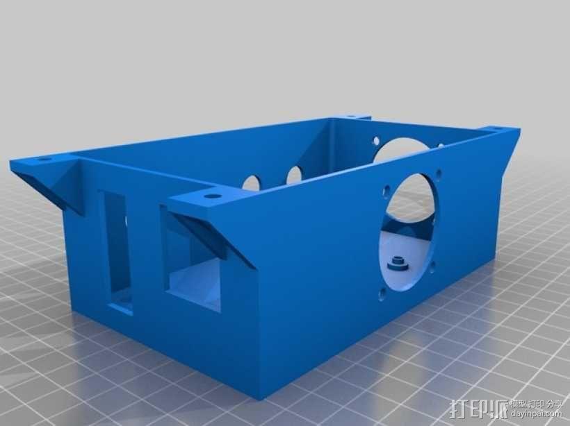 Ramps 1.4打印机外壳 3D模型  图1