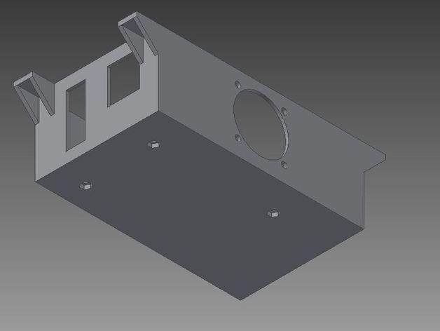 Ramps 1.4打印机外壳 3D模型  图3