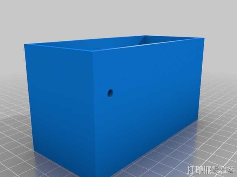 电源盒 保护外壳 3D模型  图2