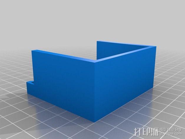 打印机Z轴联轴器外罩 3D模型  图2
