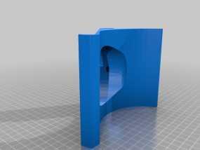 Apple Macbook pro retina 13电脑支架 3D模型