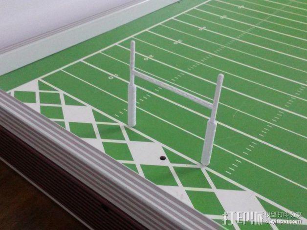 足球游戏门柱 3D模型  图5