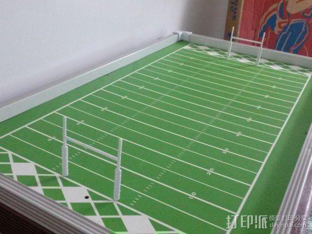 足球游戏门柱 3D模型  图6