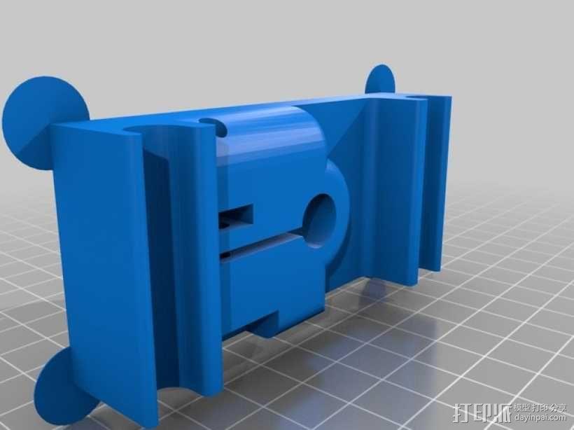 MakerBot打印机指示器固定架 3D模型  图2