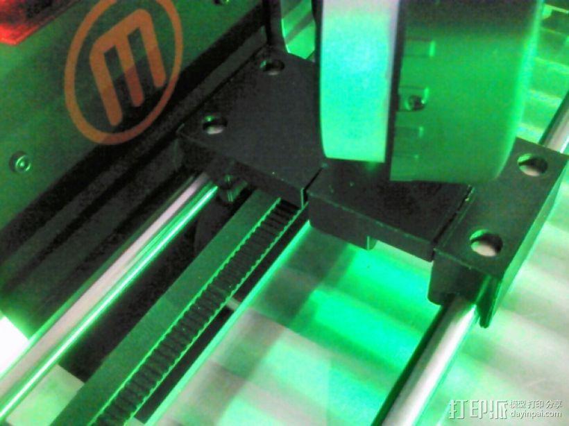 MakerBot打印机指示器固定架 3D模型  图6