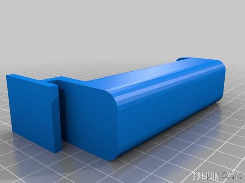 Replicator2X打印机的线轴架 3D模型  图1