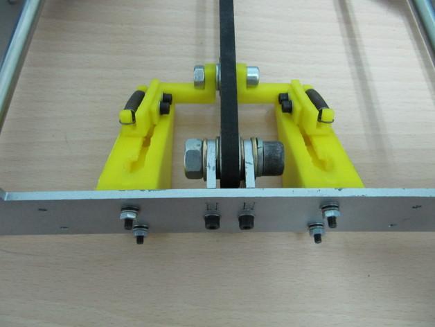 传动带张紧装置 3D模型  图1