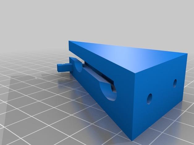 传动带张紧装置 3D模型  图2
