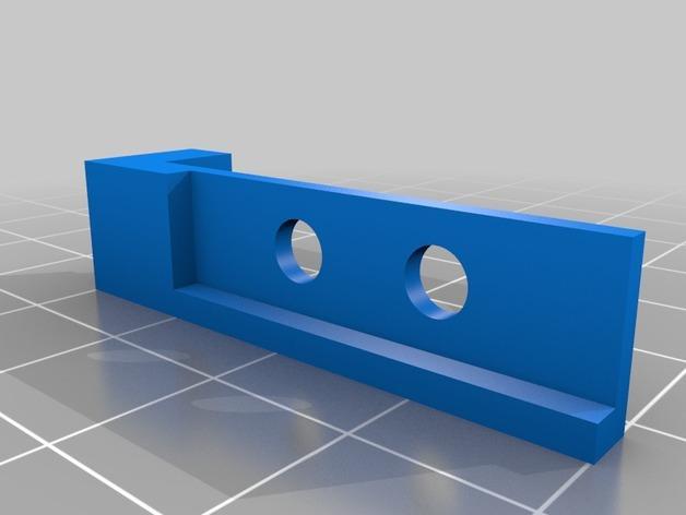 传动带张紧装置 3D模型  图4