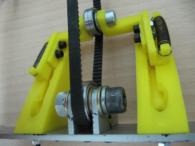 传动带张紧装置 3D模型  图9